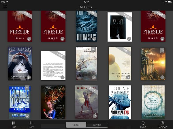 Kindle Genre Magazines