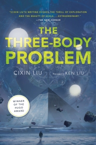 Three Body Problem book cover