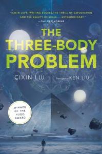 Three Body Problem book cover