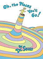 Oh the places youll go book cover